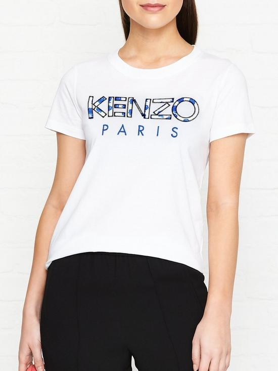 7529cea4 Floral Logo T-shirt - White