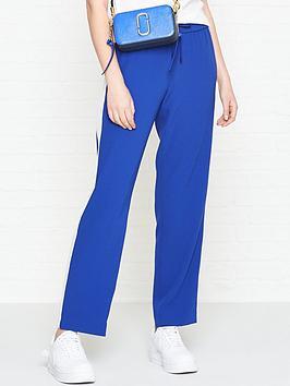 kenzo-crepe-side-panel-track-pant-blue