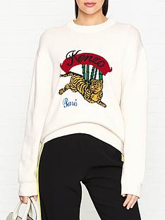 kenzo-jumping-tiger-jumper-white