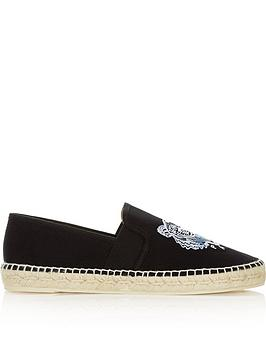 kenzo-tiger-head-canvas-espadrillesnbsp--black