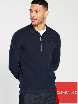 ted-baker-long-sleeve-polo-sweater