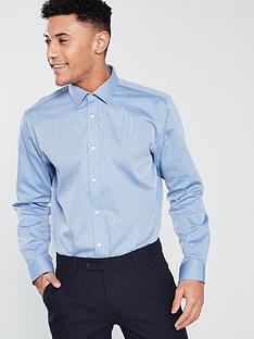 ted-baker-diamond-spot-endurance-long-sleeve-shirt-blue
