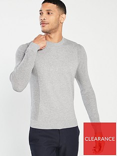 d4f4bd9f9bbe99 Ted Baker Trull Crew Neck Jumper - Grey