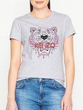kenzo-classic-tiger-head-t-shirtnbsp--grey-marl
