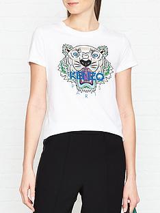 kenzo-classic-tiger-head-t-shirtnbsp--white
