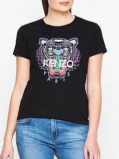 kenzo-classic-tiger-head-t-shirtnbsp--black