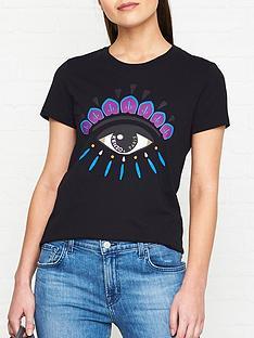 kenzo-evil-eye-classic-t-shirt-black