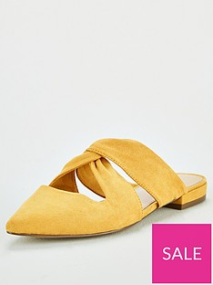 v-by-very-marie-twist-knot-point-flat-mule