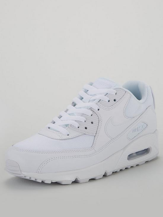 f0ed3ac9f2d4f Nike Air Max 90 Essential - White | very.co.uk