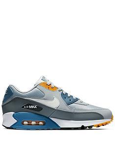 cheap for discount 913a7 d8606 Nike Air Max 90 Essential - Grey White