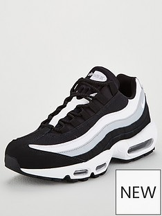 5d1b2d7427baba Nike Air Max 95 Essential Trainers - Black White