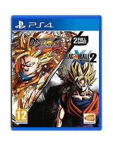 playstation-4-dragonball-fighterz-and-dragonball-xenoverse-2-twin-pack-ps4