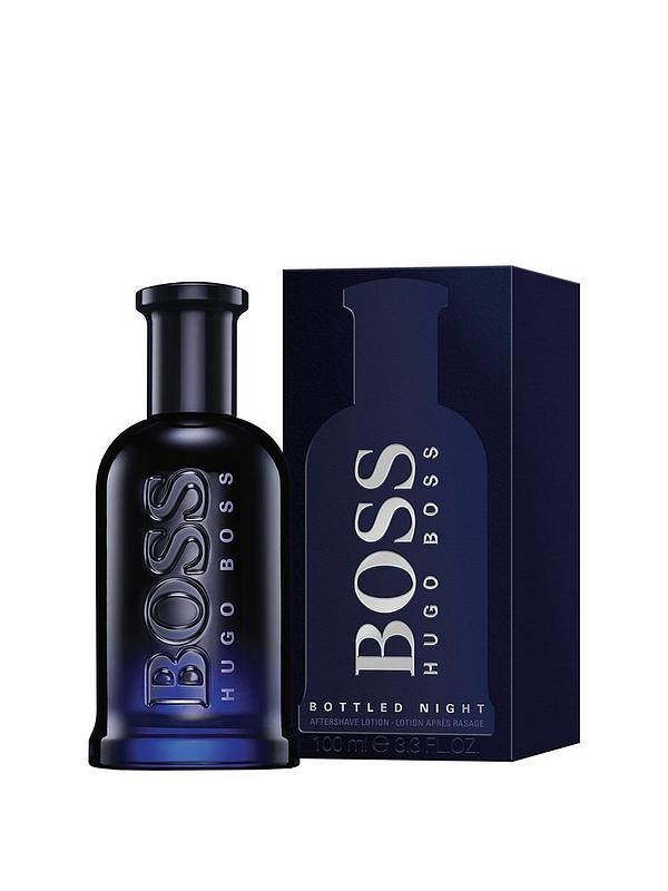 buying now on feet images of classic Hugo Boss Boss Bottled Night 100ml Aftershave Lotion