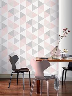 arthouse-scandi-triangle-pink-wallpaper