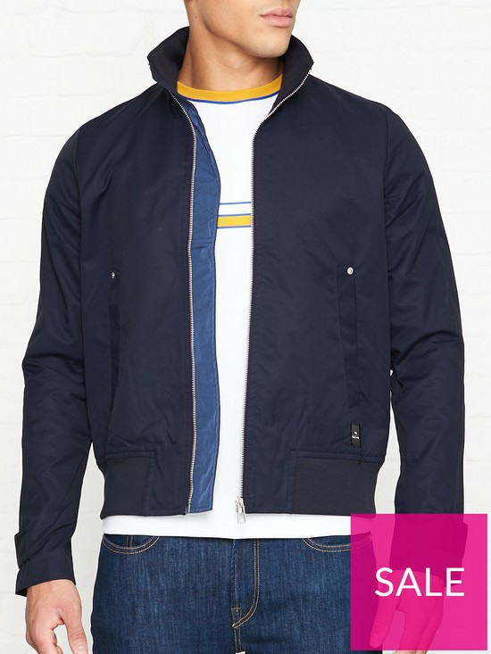 ef890ea51a8ba7 PS PAUL SMITH Harrington Jacket - Navy | very.co.uk