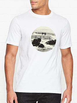 ps-paul-smith-beach-print-logo-t-shirt-white