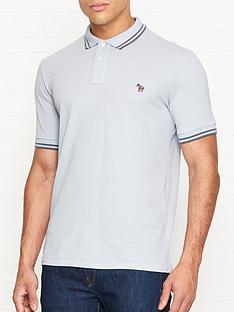 ps-paul-smith-zebra-logo-tipped-pique-polo-shirt-blue