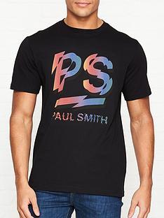 ps-paul-smith-rainbownbsplogo-print-t-shirt-black