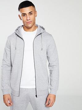 v-by-very-essential-zip-throughnbsphoodie-grey-marl