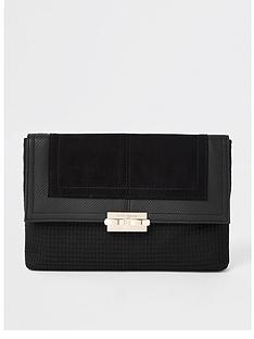 river-island-river-island-lock-front-clutch-bag-black