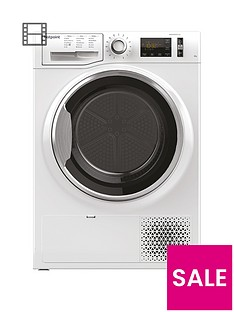 hotpoint-activecare-ntm1182xb-8kg-load-heat-pump-tumble-dryer-white