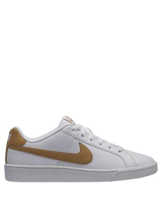 separation shoes 6688b b89e6 Nike Court Royale - White Gold