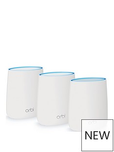 netgear-netgear-rbk23-orbi-whole-home-mesh-wi-fi-system-up-to-4500-sq-ft-coverage-tri-band-ac2200-22-gbps