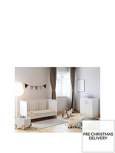 little-acorns-santorini-cot-bed-amp-changer-set-white