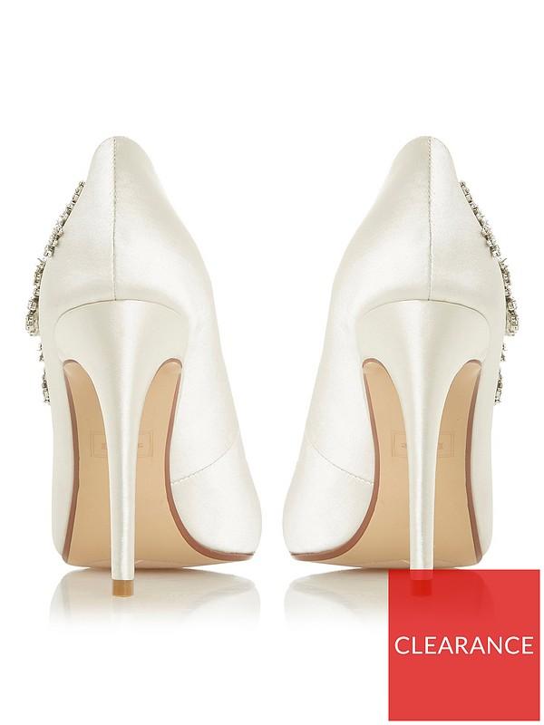 BEJEWELLED High Heel Pumps ivory