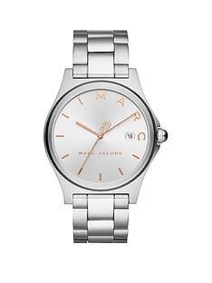 marc-jacobs-marc-jacobs-henry-silver-and-rose-gold-date-dial-stainless-steel-bracelet-ladies-watch