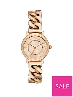marc-jacobs-marc-jacobs-rose-gold-dial-rose-gold-stainless-steel-chain-link-bracelet-ladies-watch
