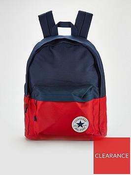 converse-colourblock-backpack-rednavy