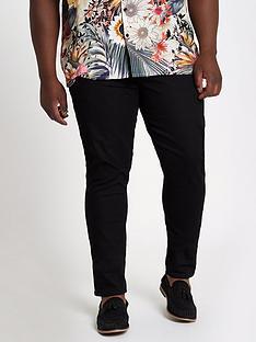 river-island-big-and-tall-black-sid-skinny-jeans