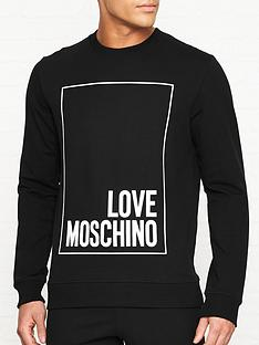 love-moschino-rubber-box-logo-print-slim-fit-sweatshirt-black