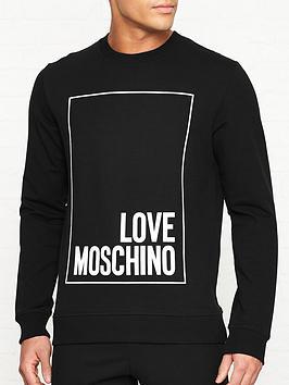 love-moschino-rubber-box-logo-print-slim-fit-sweatshirt-black