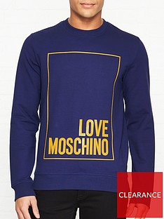 love-moschino-rubber-box-logo-print-slim-fit-sweatshirt-blue