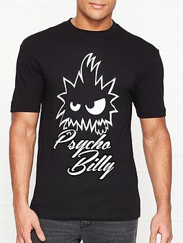 mcq-alexander-mcqueen-psycho-billy-t-shirt-black