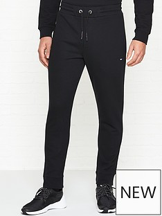 mcq-alexander-mcqueen-swallow-logo-sweatpants-black