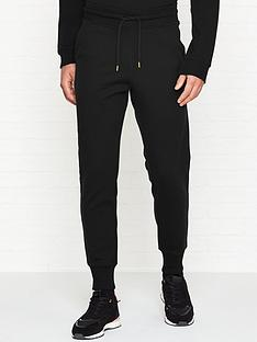 love-moschino-gold-peace-sign-slim-fit-joggers-black