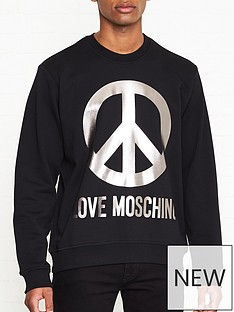 love-moschino-metallic-peace-sign-sweatshirt-black