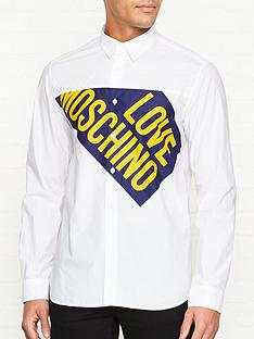 love-moschino-cut-off-flag-print-shirt-white