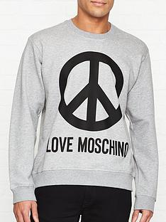 love-moschino-peace-sign-print-sweatshirt-grey