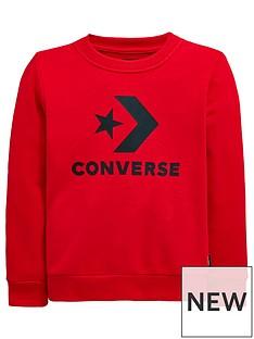 converse-boys-stacked-wordmarknbspsweat-red