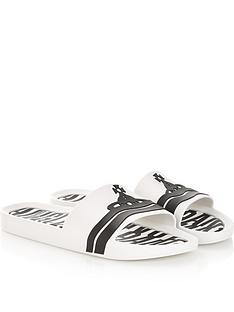 vivienne-westwood-for-melissa-mens-contrast-orb-sliders-white