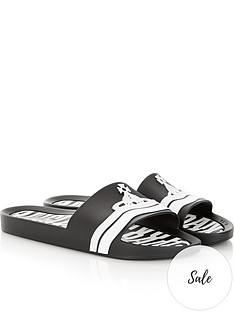 vivienne-westwood-for-melissa-contrast-orb-slides-black