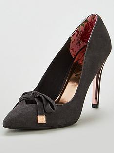 ted-baker-gewell-heeled-court-shoe-grey