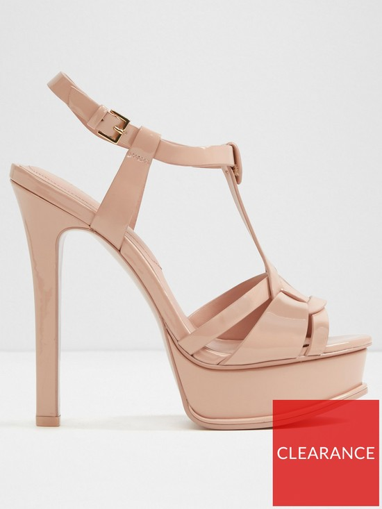 33b912c95f0 Aldo Chelly Heeled Sandal - Light Pink