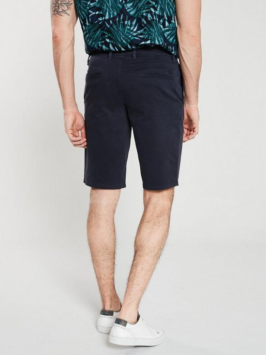 a5f333d49 BOSS Casual Slim Chino Short - Navy | very.co.uk