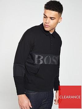 boss-casual-polo-sweater-black