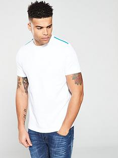 boss-casual-taped-shoulder-stripe-t-shirt-white